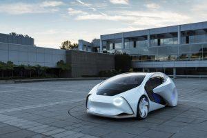 автономный концепт Тойота