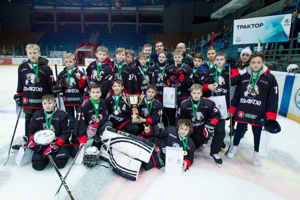 юных хоккеистов