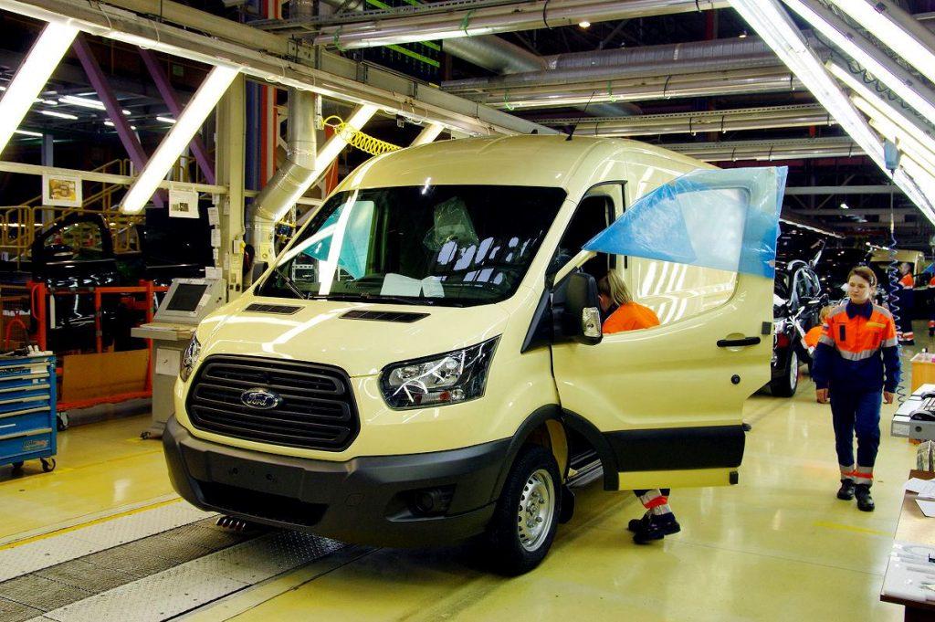 бронированных Ford Transit