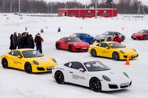 Porsche Winter Drive