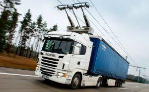 грузовиков с токоприемниками