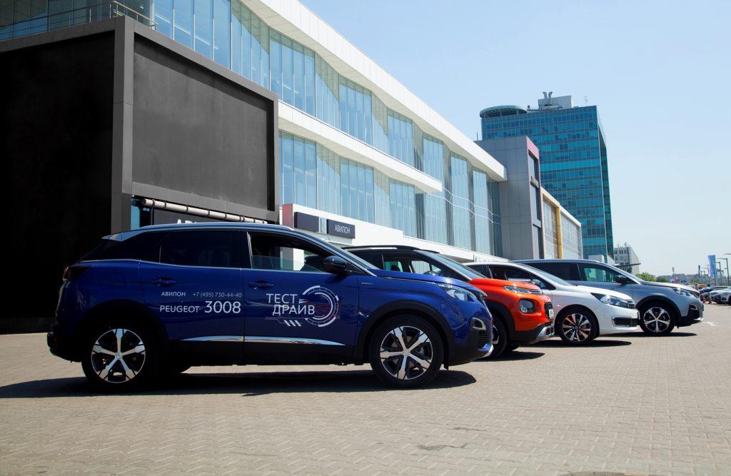 брендов Peugeot и Citroen