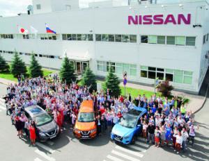 Nissan празднует 10 лет